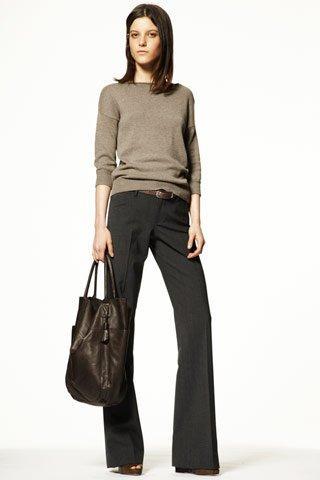 Они меняются, но остаются. Модные брюки в зимнем сезоне 2010-2011