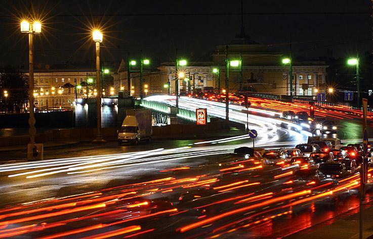 Проблему пробок в Петербурге можно решить?