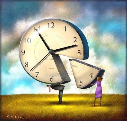 Утро – время для любви, вечер - время для лени