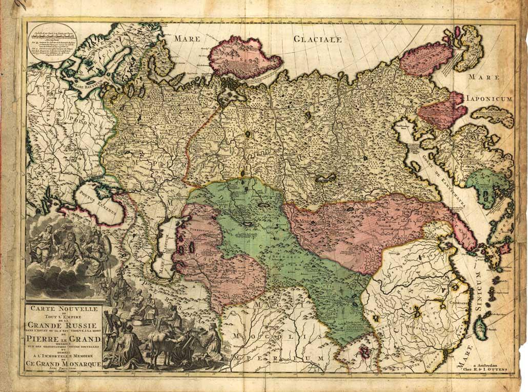 Геополитические аспекты внешней политики России в XVIII веке