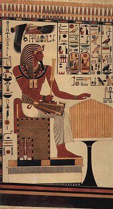 Социальные сети: Личная страница Фараона