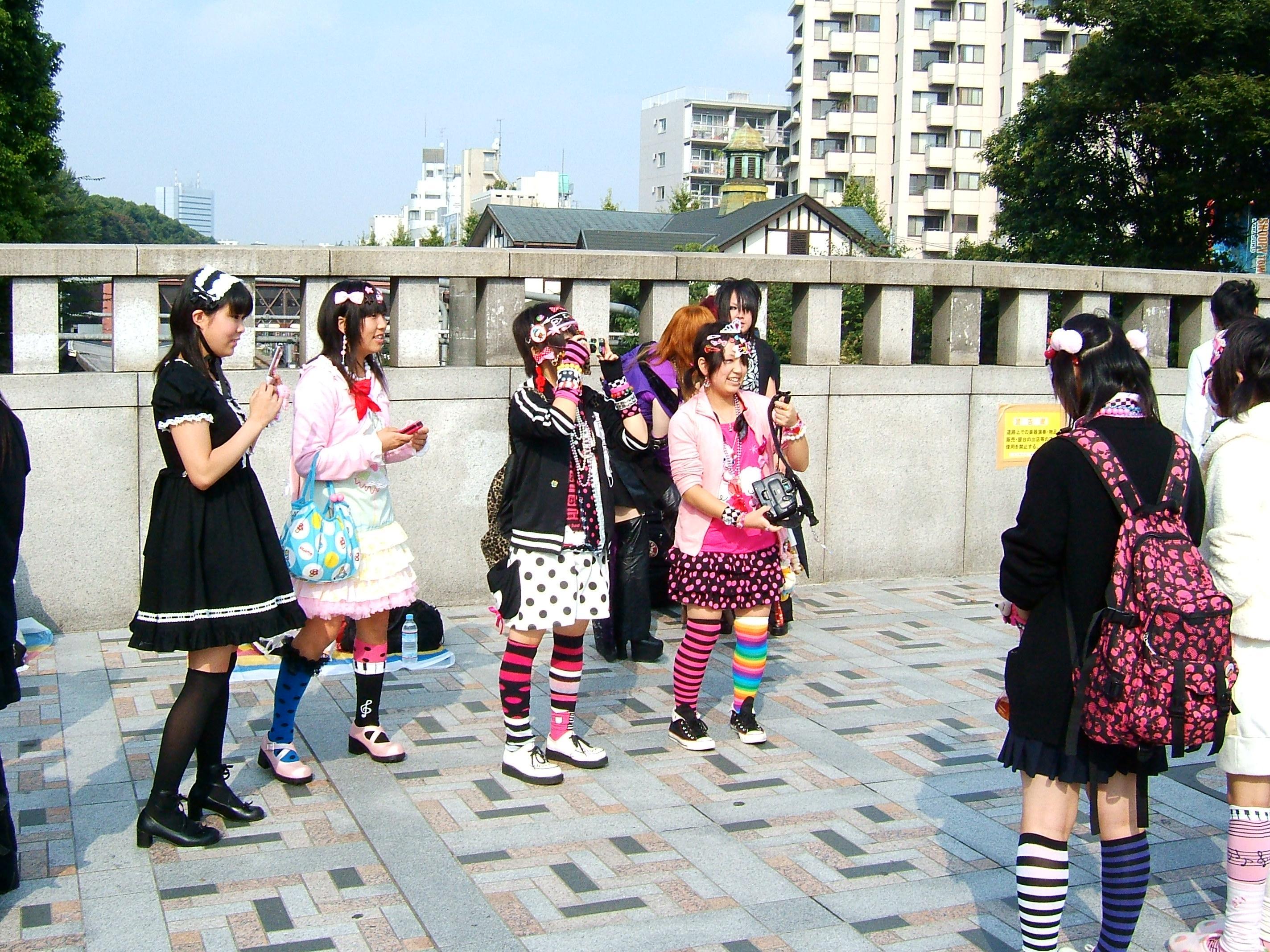 Модный бум в Токио