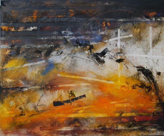 Персональная выставка живописи Габриеле Локштедта «Свет и Пепел» в Музее нонконформистского искусства